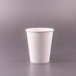 Puodeliai 250 ml. Balti
