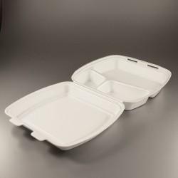 Meniu dėžutės balta x3