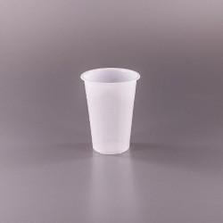 Baltos stiklinės 200 ml